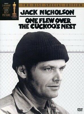 One Flew Over the Cuckoo's Nest (DVD, 2002, 2-Disc Set, Two Disc Special...