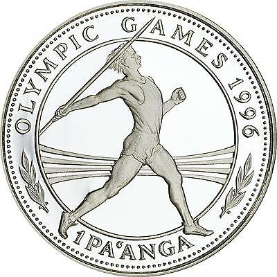 "Tonga ""Olympische Sommerspiele Atlanta - Speerwerfen"" 1 Pa'anga 1994 - Silber PP"