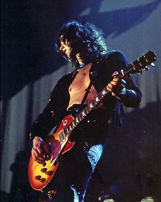 Jimmy Page - Led Zeppelin - 8x10 Color Photo