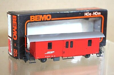 BEMO 4036 HOe RHB PACKWAGEN COACH NEW BOXED mc