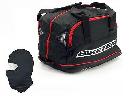 Motorcycle Motorbike Crash Helmet Bag Holdall, Flip , Full Face,etc + Balaclava