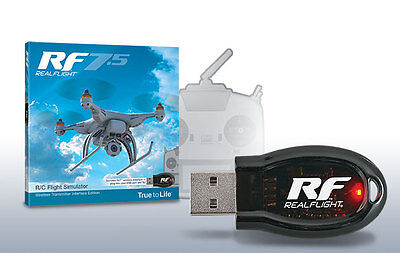 Great Planes RealFlight 7.5 Simulator  w/ Wireless Real Flight SLT Interface