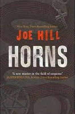 Horns by Joe Hill    (Paperback 2011)    Great Gift!    (New)