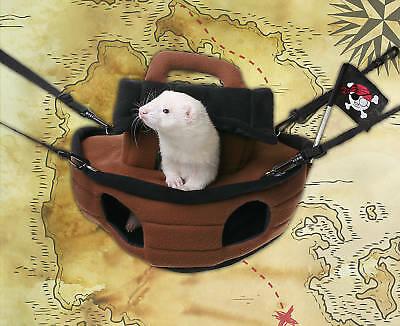 Marshall Ferret Cage Pirate Ship Bed Hammock