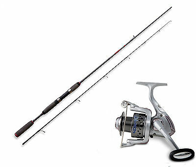 Lineaeffe Freshwater spinning rod & Drake 40FD Reel combo Option of 4 sizes.