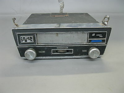 VINTAGE AUTOMATIC RADIO 8 TRACK PLAYER W/SEPARATION CONTROL & CHANNEL SELECT 113