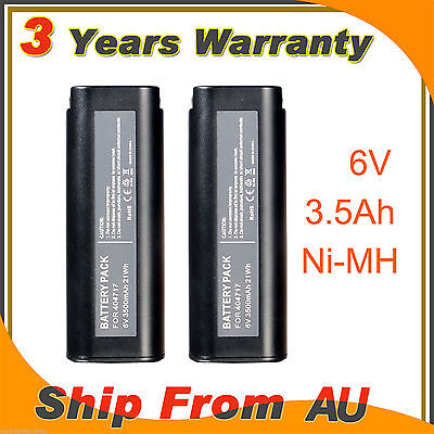 2 Battery For Paslode 6V Nail Gun Nailer 3.5Ah NI-MH 404717 404400 B20540 404400