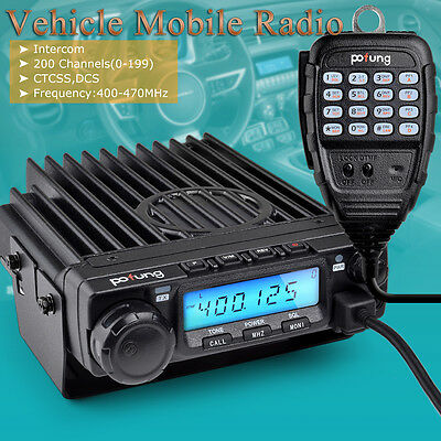 NEW Pofung/Baofeng BF-9500 Mobile Transceiver/Vehicle Radio UHF 400-470MHz 200CH