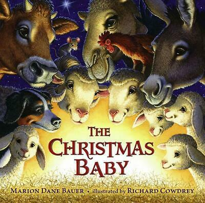 The Christmas Baby by Marion Dane Bauer (English) Hardcover Book Free Shipping!