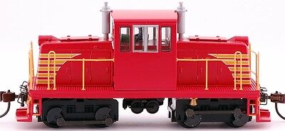 Bachmann HO Scale Train GE 45-Ton Switcher DCC Equipped Red with Yellow 85203