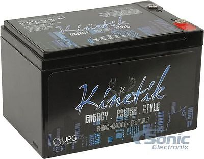 NEW! Kinetik HC400-BLU 12V High Current AGM Car Audio Power Cell Battery