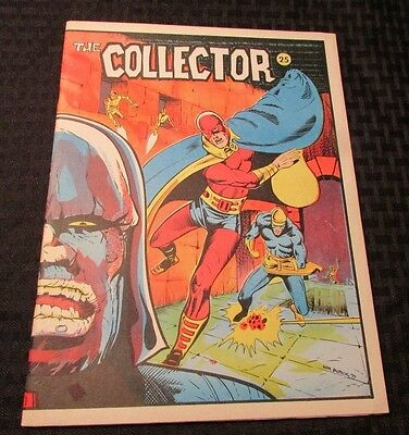 1972 THE COLLECTOR #25 VF- Fanzine JACK KIRBY 30 pgs