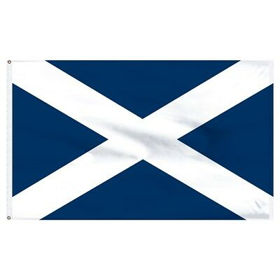 3x5 ft ST ANDREWS CROSS Country of Scotland Flag Lightweight Print Polyester