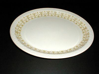 "Syracuse Restaurant Ware CLASSIC BRONZE/Gold Filigree 11-3/8"" Oval Platter/s"