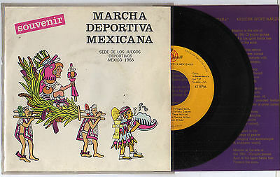 Orig.Record   Olympic Games MEXICO 1968  //  SPECIAL EDITION  !!  VERY RARE