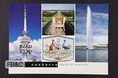 Postcard - Views of Canberra ACT