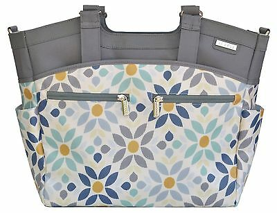 JJ Cole Camber Baby Diaper Bag Tote Prairie Blossom w/ Changing Pad NEW