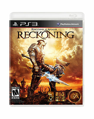 Kingdoms of Amalur Reckoning w/CASE GREAT Sony Playstation 3 PS3
