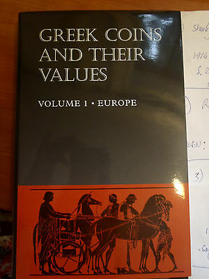 Greek Coins and Their Values, Volume 1 - Europe. By David R Sear