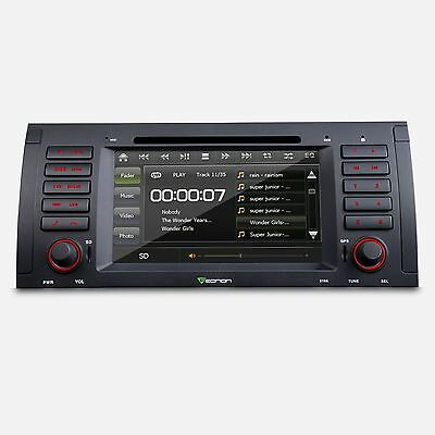BMW X5/E53 Car DVD Player GPS Navigation E4 In-dash Stereo Radio System RDS ipod