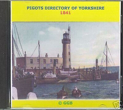 Genealogy Directory Of Yorkshire 1841 Cd Rom