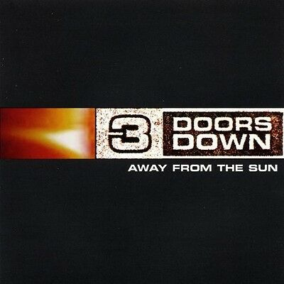 3 Doors Down - Away from the Sun [New CD]