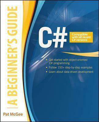 C#: A Beginner's Guide by Pat McGee Paperback Book (English)