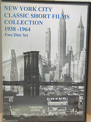 NEW YORK CITY CLASSIC SHORT SUBJECT FILMS COLLECTION 1938 -1962 (New 2 DVD Set)