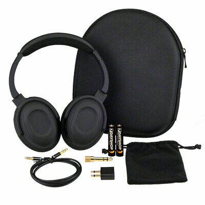 AERO 7 Ultra HQ Active Noise Cancelling Headphones with Travel Case and Adapters