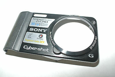 Sony Cyber-shot DSC-HX7V Front Cover With black Ring Replacement Repair part