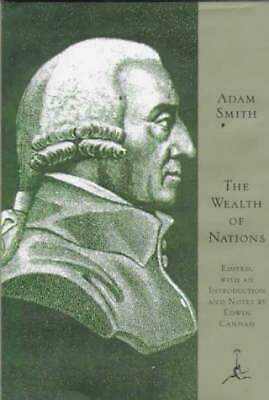 The Wealth of Nations by Adam Smith Hardcover Book (English)