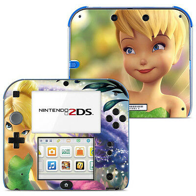 Skin Sticker Autocollant Deco Pour Nintendo 2Ds Ref 005 - Fee Clochette
