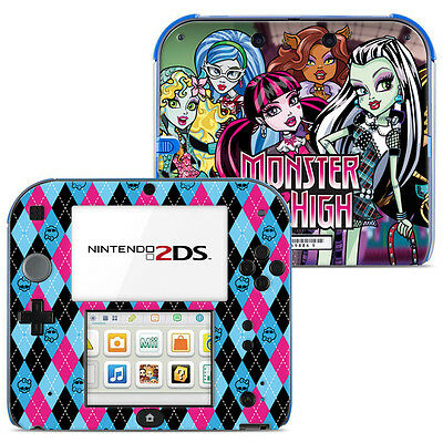 Skin Stickers Autocollant Pour Nintendo 2Ds Ref 006 - Monster High