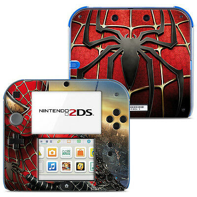 Skin Stickers Autocollant Pour Nintendo 2Ds Ref 004 - Spiderman