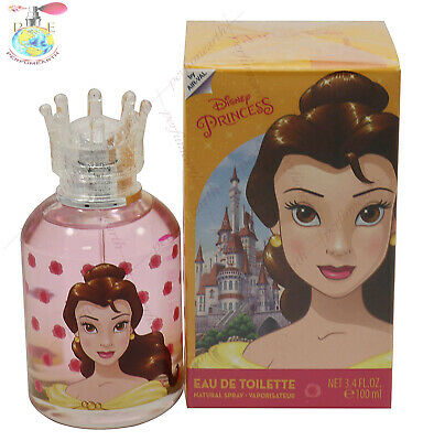 Belle By Disney Princess 3.4/3.3 Oz Edt Spray For Kid's New In Box