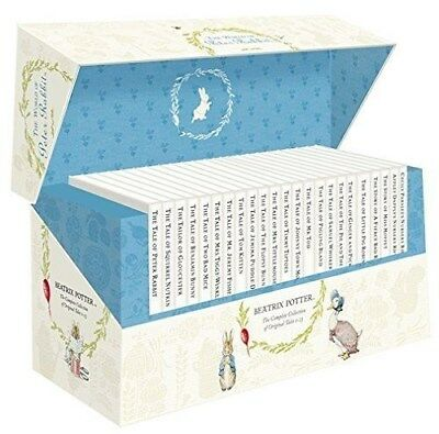 The World of Peter Rabbit - Complete Box Set Collection 23 Books Beatrix Potter