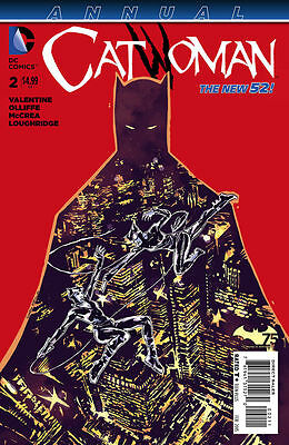 Catwoman Annual (2014) #2 Vf/nm The New 52!
