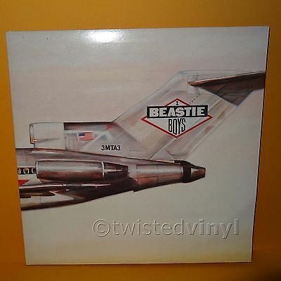 "1986 Def Jam Recordings Beastie Boys - Licensed To Ill 12"" Gatefold Lp Vinyl"