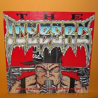 "1989 Sire Records Ice-T - The Iceberg / Freedom Of Speech 12"" Lp Album Vinyl"
