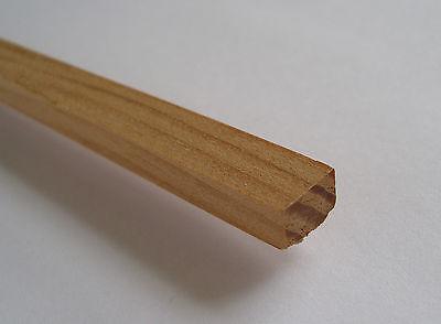 "Obechi Wood Strip  10pcs x 1//8/"" Thick x 1//4/"" Wide x 36/"" Long UK Mainland Post"