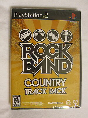 Rock Band Country Track Pack (Playstation PS2) Brand New, Sealed!