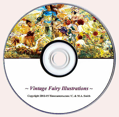 Cash from your inkjet - ANTIQUE FAIRY PRINTS/PAINTINGS