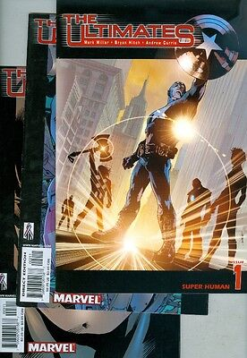 Ultimates #1, #2, #3, #4, #5, #6, #7, #8, #9, #10, #11, #12, and #13