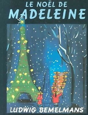 NEW Le Noel de Madeleine by Ludwig Bemelsman Paperback Book (French) Free Shippi