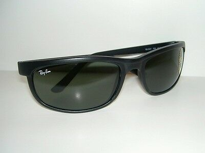 New RAY BAN Sunglasses PREDATOR 2 Matte Black RB 2027  W1847  G-15 Glass Lenses
