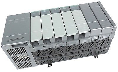 Allen Bradley 1746-A7 7-Slot Rack Ser. B W/ 1746-P2 Power Supply Ser. C