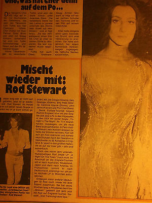 1 german clipping CHER NOT SHIRTLESS 70`s SINGER GAY INT. ROCK POP BOY BAND BOYS