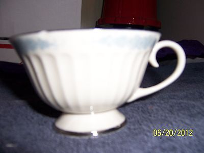 Flintridge China Chrissy Rose Footed Tea  Cup Made in California