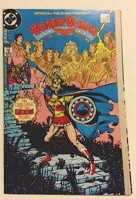 WONDER WOMAN #10 (1987) Fold-out Cover Highly Collectible UNREAD Condition VF-NM
