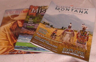 Central Missoula Glacier Country Montana Magazines Travel Guides Planner 2014